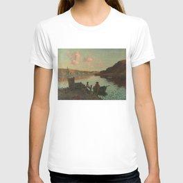 Evans Bay - James M. Nairn T-shirt