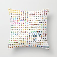 How I Feel! Throw Pillow
