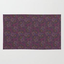 Meredith Paisley - Eggplant Purple Rug