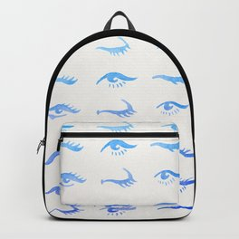 Mascara Envy – Blue Ombré Palette Backpack