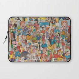 Archie Comics Collage #2 Laptop Sleeve