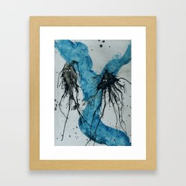 Ink monster- pair Framed Art Print