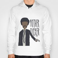 pulp fiction Hoodies featuring Pulp Fiction by Molnár Roland