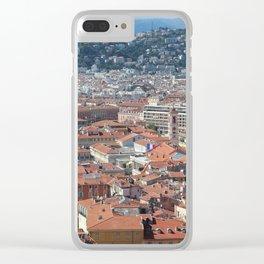 Cote D'Azur Overlook Clear iPhone Case