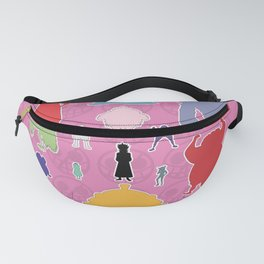 Donquixote Family Silhouette Fanny Pack
