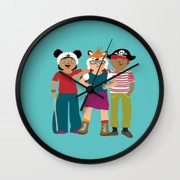 Squad Goals Wall Clock