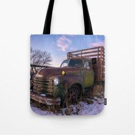 Abandoned Farm Truck Tote Bag