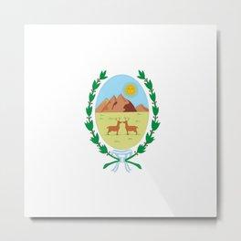 Flag of San Luis Metal Print