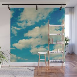 In The Clouds Wall Mural