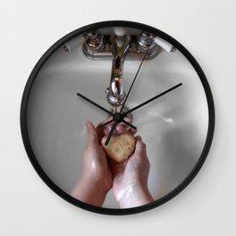 Clean Heart Wall Clock