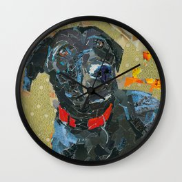 Maya The Crazy Girl Wall Clock