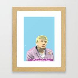 Drumpf Framed Art Print