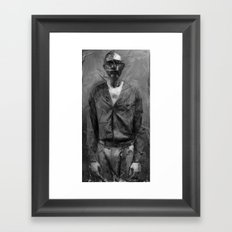 chant of a poor man Framed Art Print