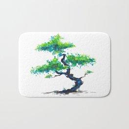 Blue Bonsai Bath Mat
