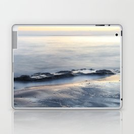Seascape with beautiful rocks during a sunset. Costa del Sol, Andalusia, Spain. Laptop & iPad Skin