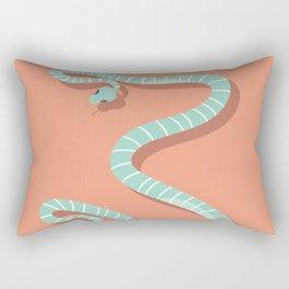 Snake card - hello stranger Rectangular Pillow
