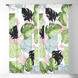 Tropical Jungle 302 B Blackout Curtain