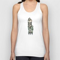 the dude Tank Tops featuring Dude by Jans Wurst
