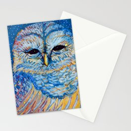 Magic Owl Stationery Cards