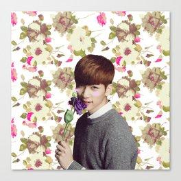 Flower Boy Hyuk Canvas Print