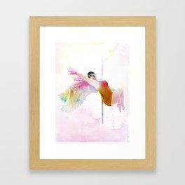Poel Angel Framed Art Print