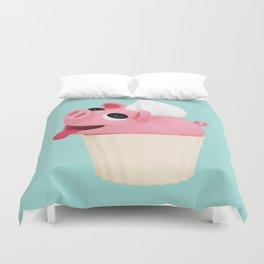 Rosa Cupcake blue Duvet Cover