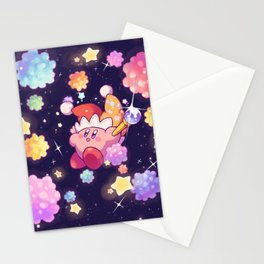 Kirby Crystal Meteor Shower Stationery Cards