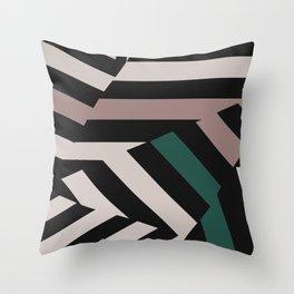 ASDIC/Radar Dazzle Camouflage Graphic Throw Pillow