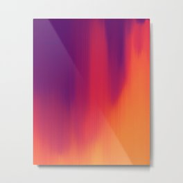 Spectrogram Metal Print