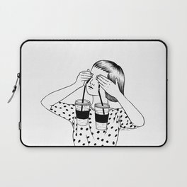 Two Cups Of Tears Laptop Sleeve