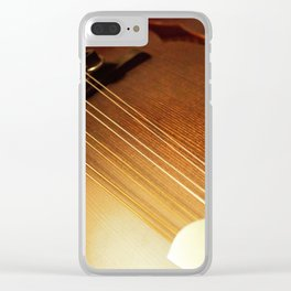 8 string seduction Clear iPhone Case