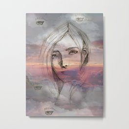 Beyond the Horizon #2 Metal Print