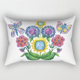 Butterfly Playground Rectangular Pillow