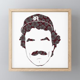 Great Mustaches - Selleck Framed Mini Art Print