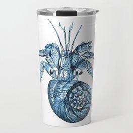 Fish nautical sea blue watercolor Travel Mug