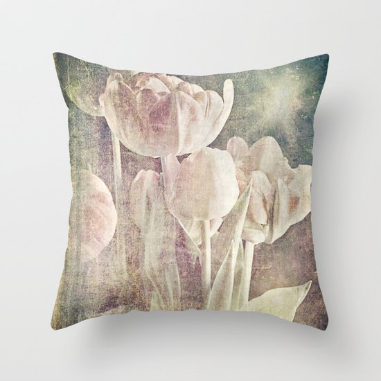 enchanted spring Throw Pillow