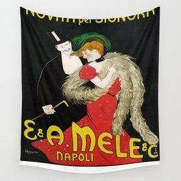Vintage poster - Novita per Signora Wall Tapestry