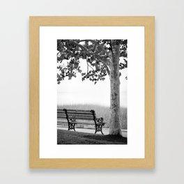 Park Bench 1 Framed Art Print