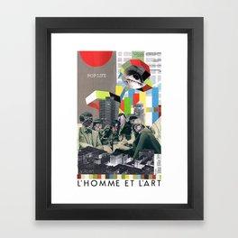 Pop Life Framed Art Print