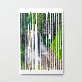 West Virginia Blackwater Falls Park Print Metal Print