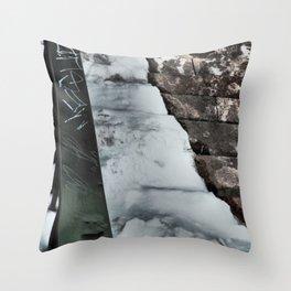 Graffiti Slide Throw Pillow