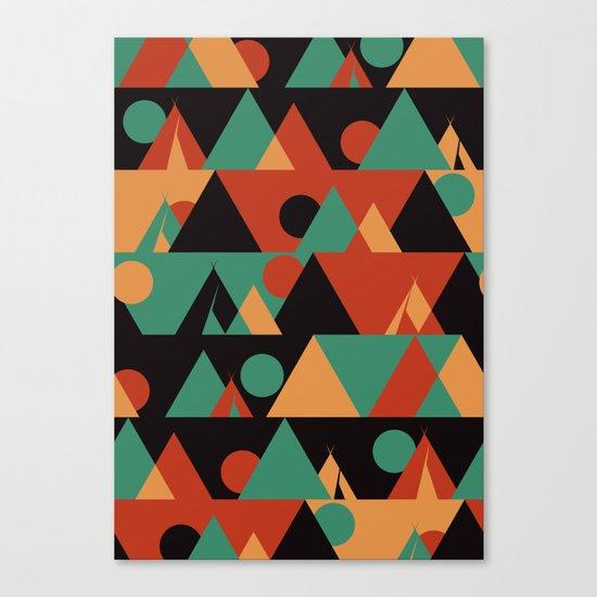 The sun phase Canvas Print