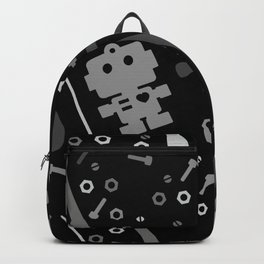 Techie Tools - black and grey Backpack
