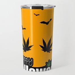 Happy Halloweed Travel Mug