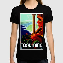 Vintage Taormina Italy Travel T-shirt