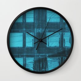 Somewhere behind a window Wall Clock
