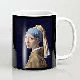 Girl With a Pearl Earring - Vermeer Coffee Mug