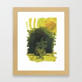 Desolation Framed Art Print