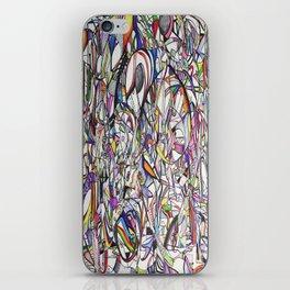 Chromatic Collisions iPhone Skin