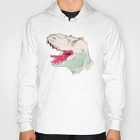 jurassic park Hoodies featuring JURASSIC PARK by Gianluca Floris